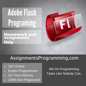 Adobe Flash Programing Assignment Help