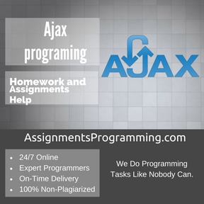 Ajax programing Assignment Help