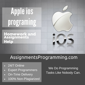 Apple ios programing Assignment Help