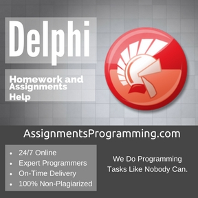 Delphi Programming Assignment Help & Delphi Programming Project and