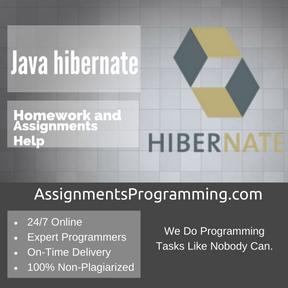 Java hibernate Assignment Help