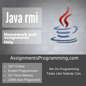 Java rmi Assignment Help
