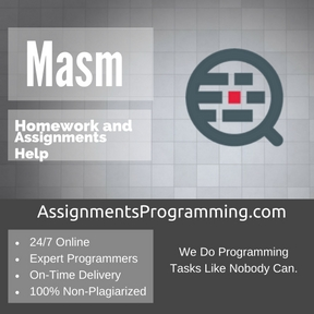 Masm Programming Assignment Help & Masm Programming Project and