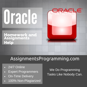 Oracle Assignment Help
