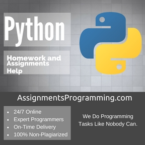 Python Assignment HelpPython Assignment Help
