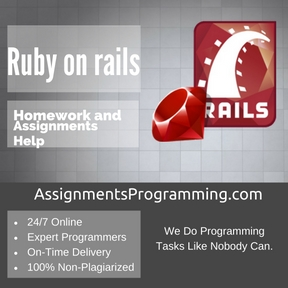 Ruby on rails Assignment Help