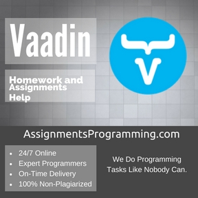 Vaadin Assignment Help