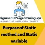 Static Method and Variable